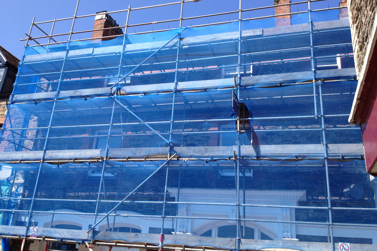 Scaffolding for Terraced Housing