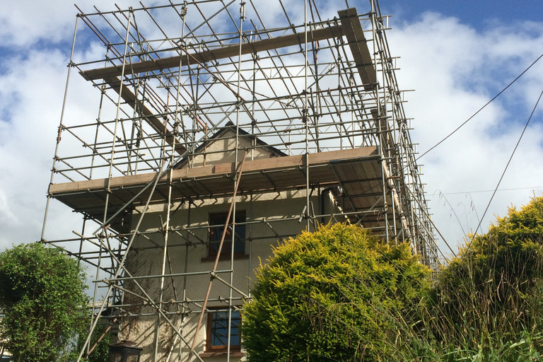 Bird Cage Scaffolding Erected by South Molton Scaffolding