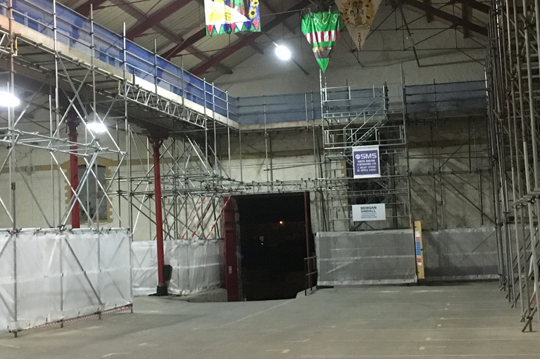 Indoor Scaffolding by South Molton Scaffolding