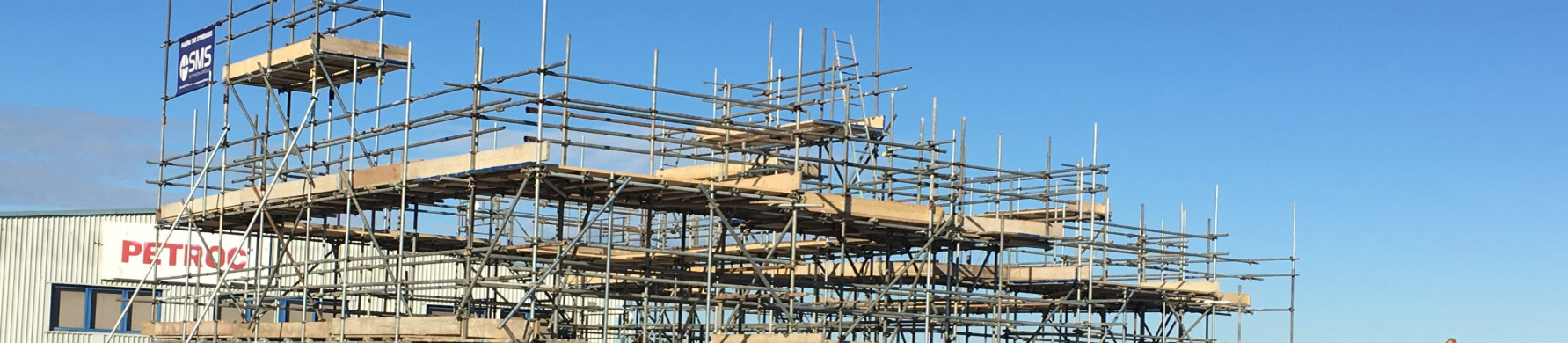 Petroc in view of Scaffolding